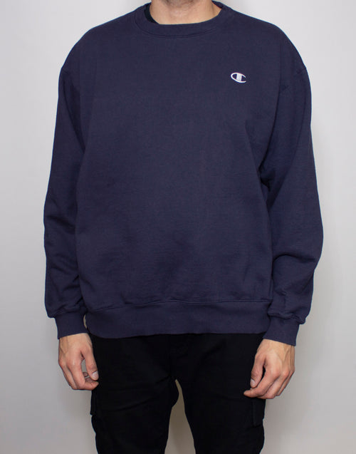 Champion Navy Crewneck