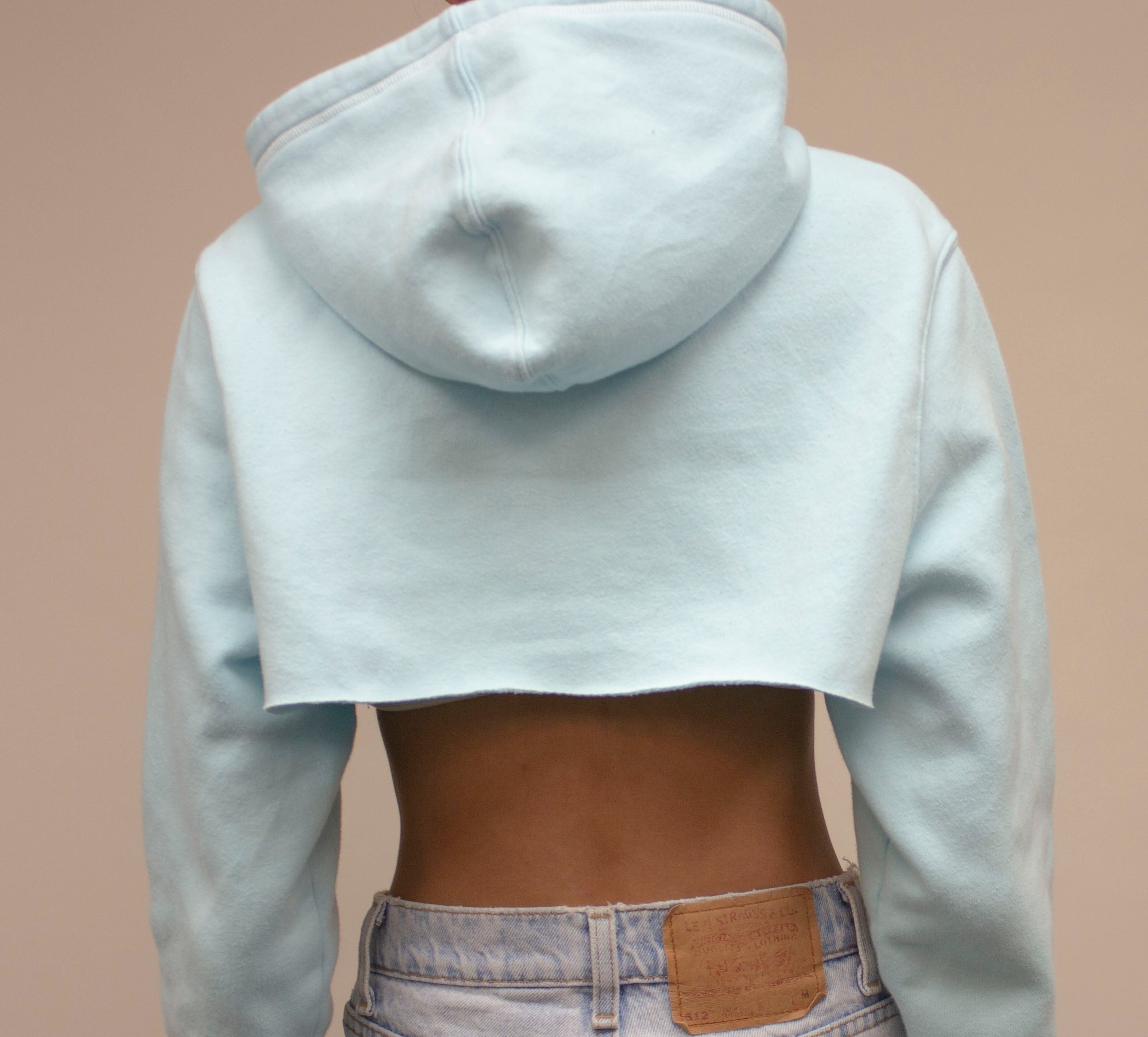 Icy Blue Adidas Crop