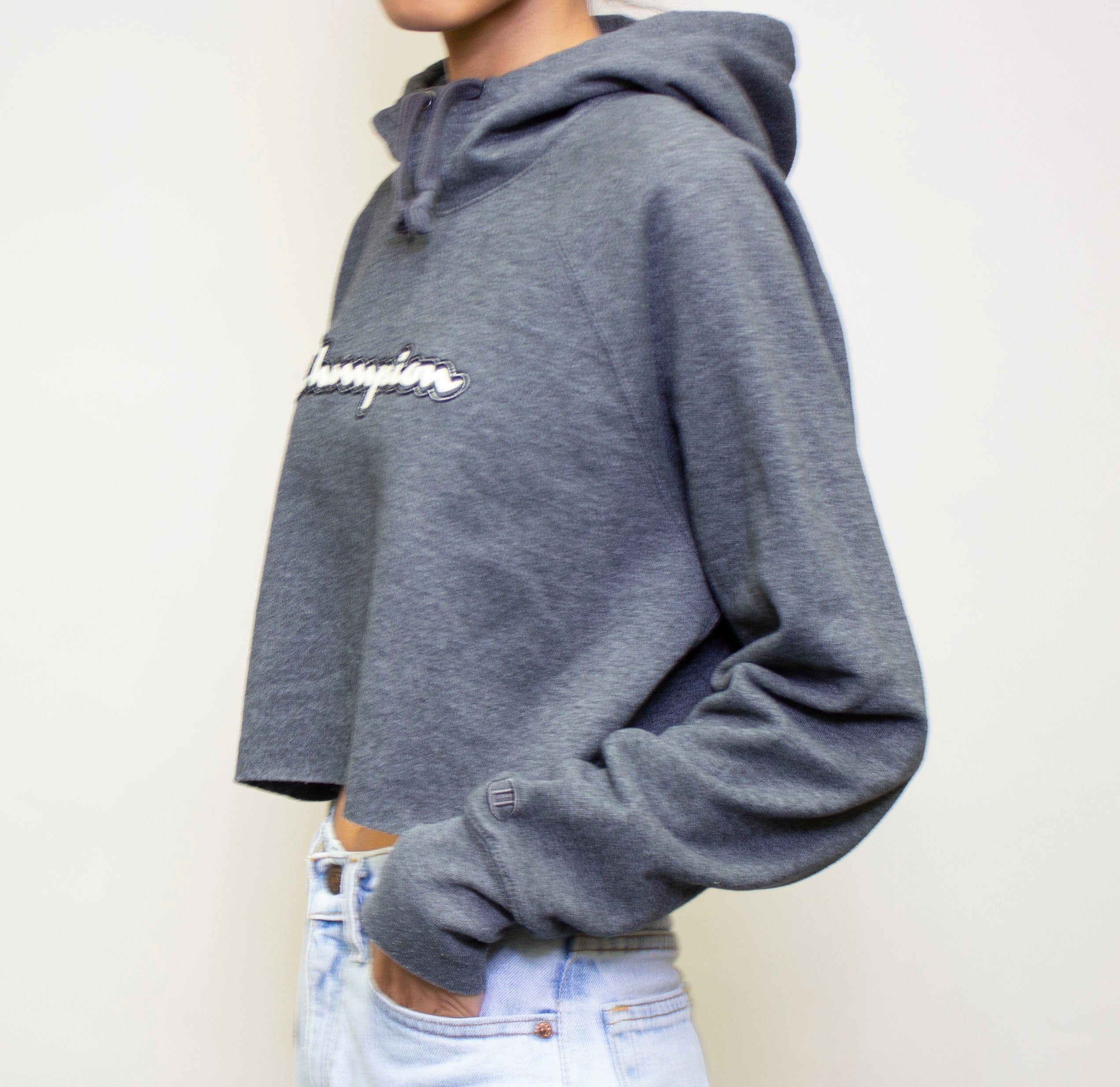 Champion Hooded Crop