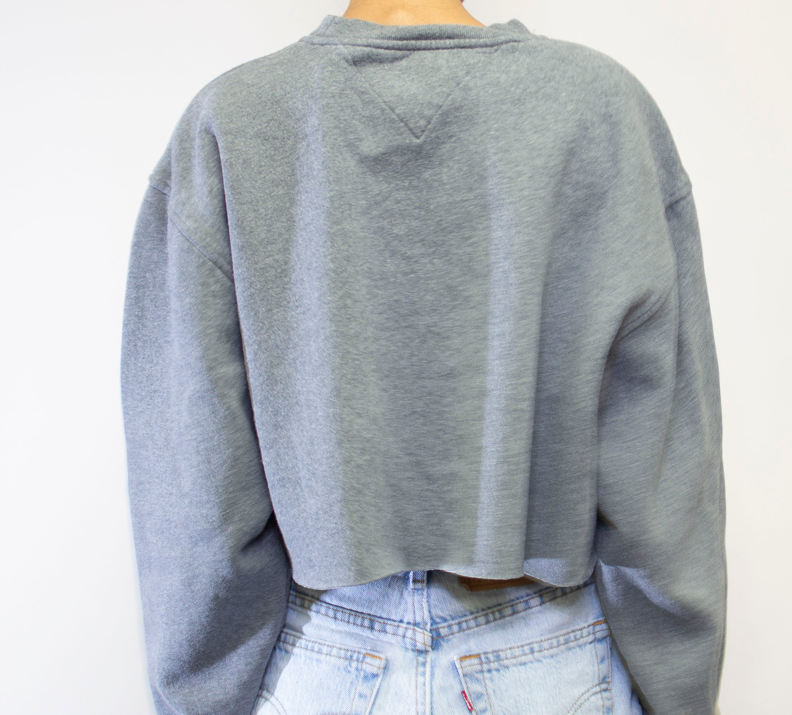 Grey Tommy Crop