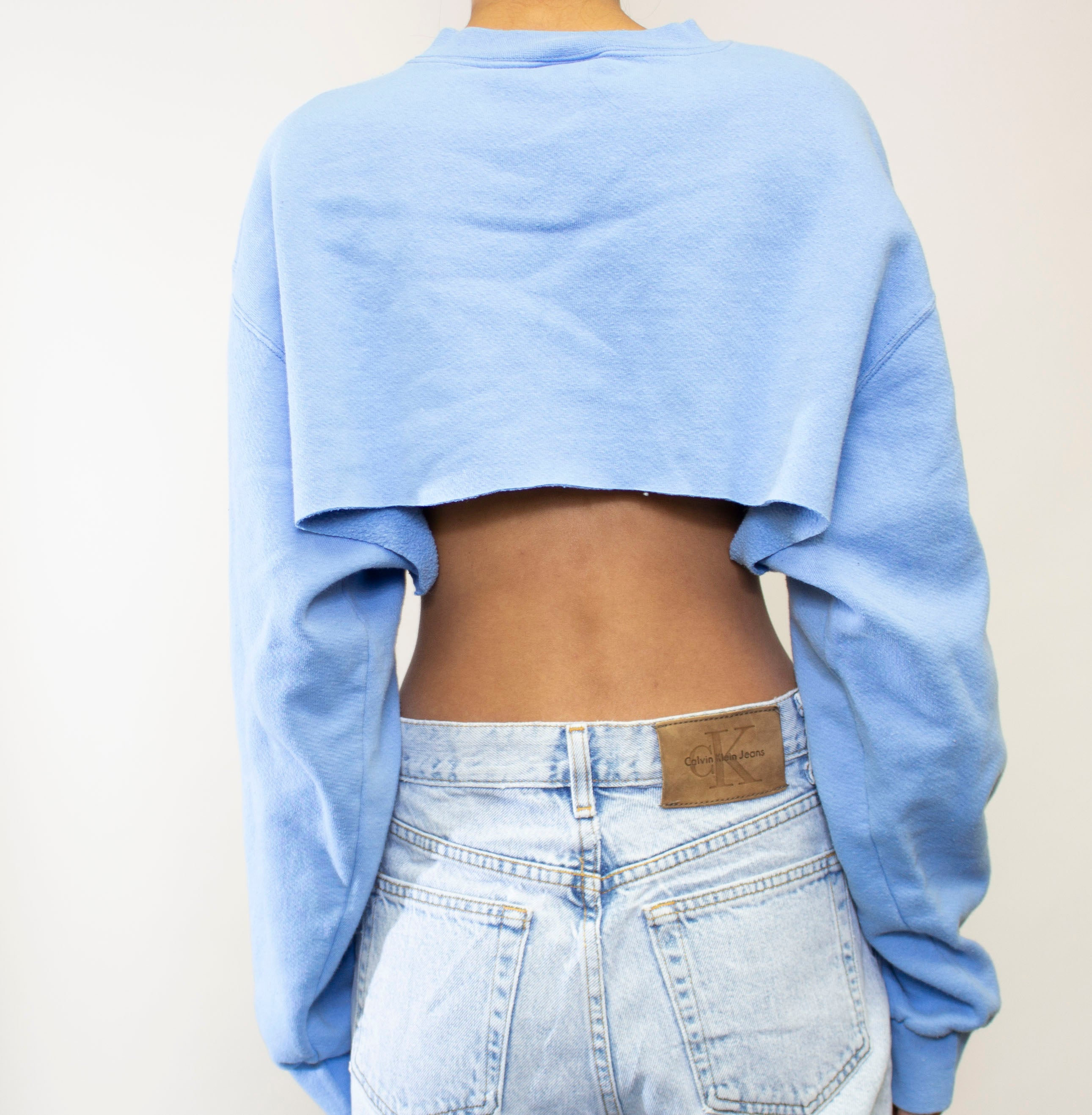 Baby Blue Nike Extreme Crop