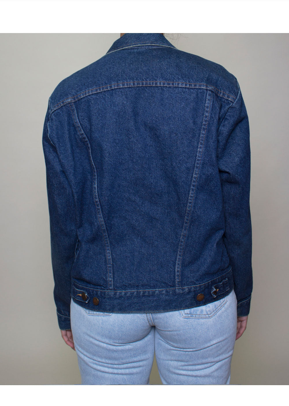 Nav Denim Jacket