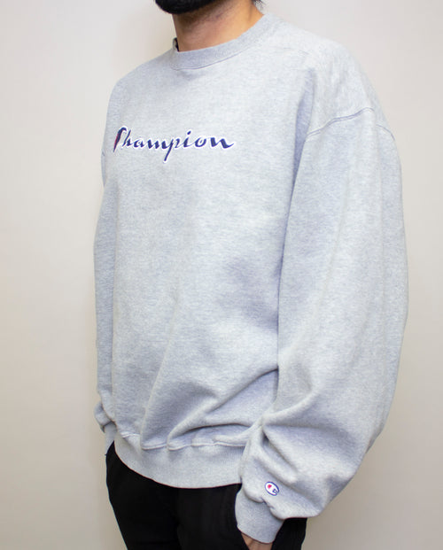 Lite Grey Champion Crewneck
