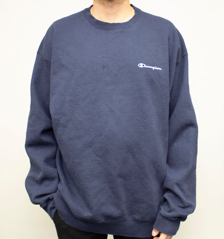 Unique Inside Out Champion Crewneck