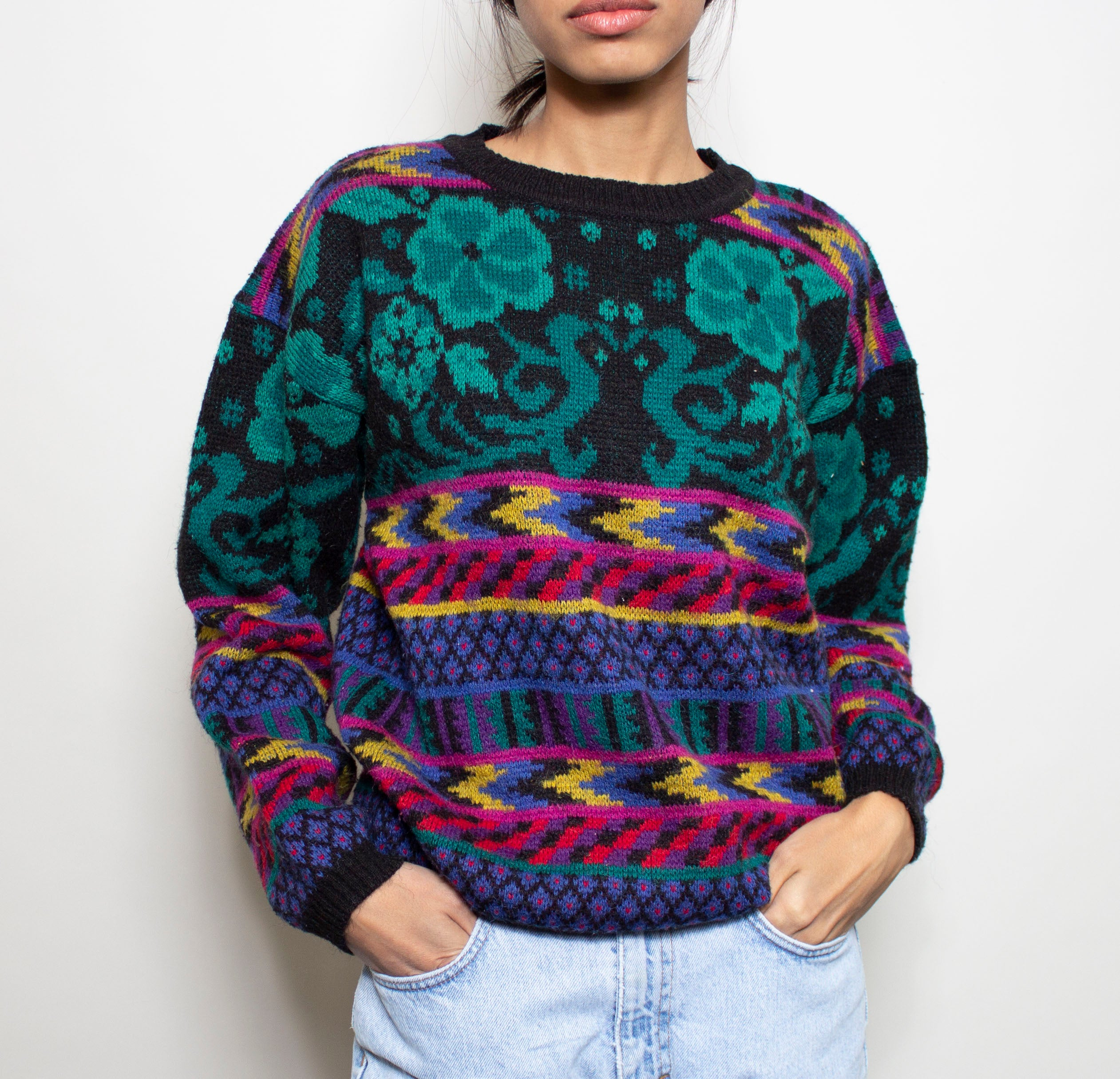 Crazy Wool Sweater