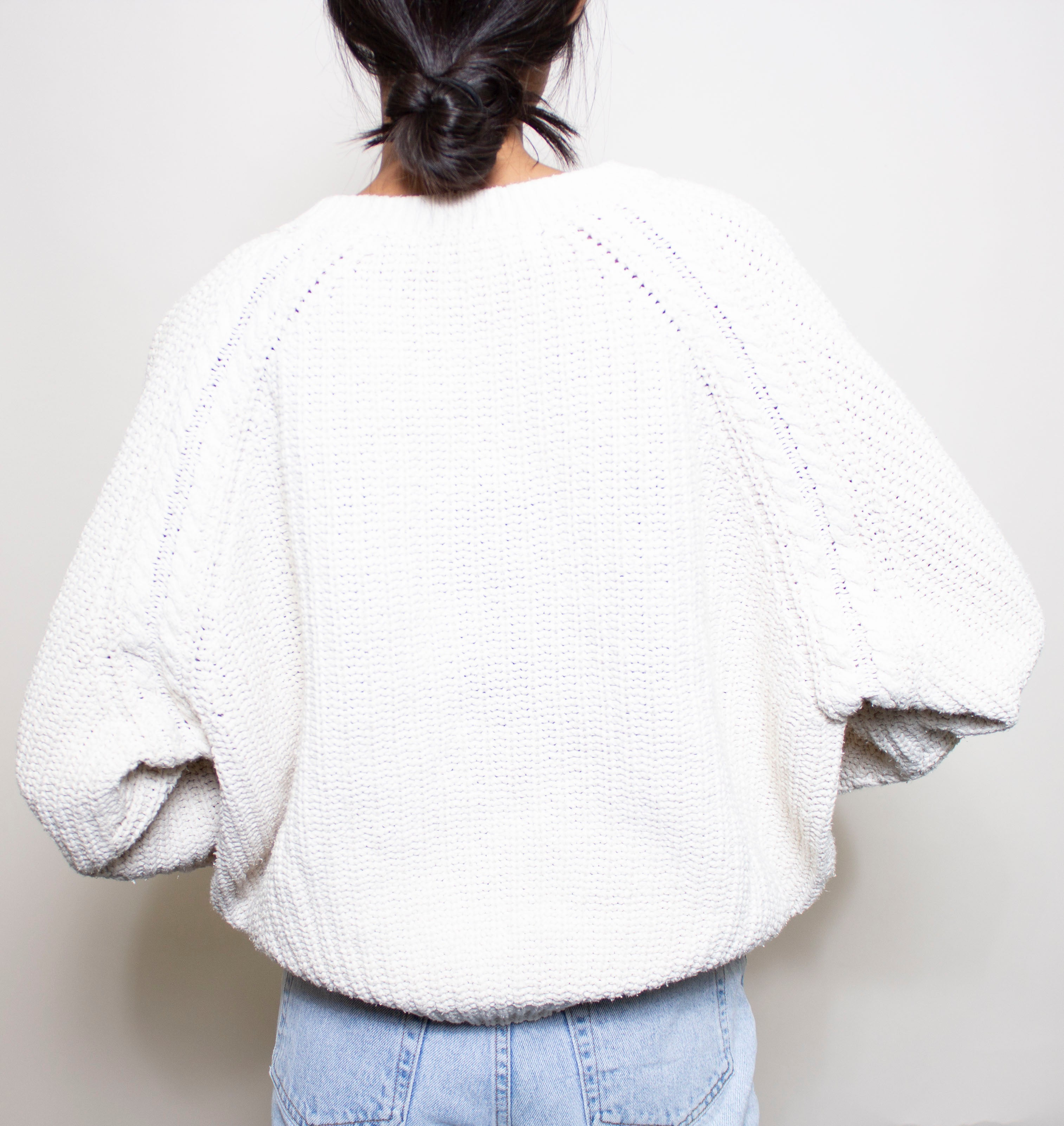 Cream Cozy Knit