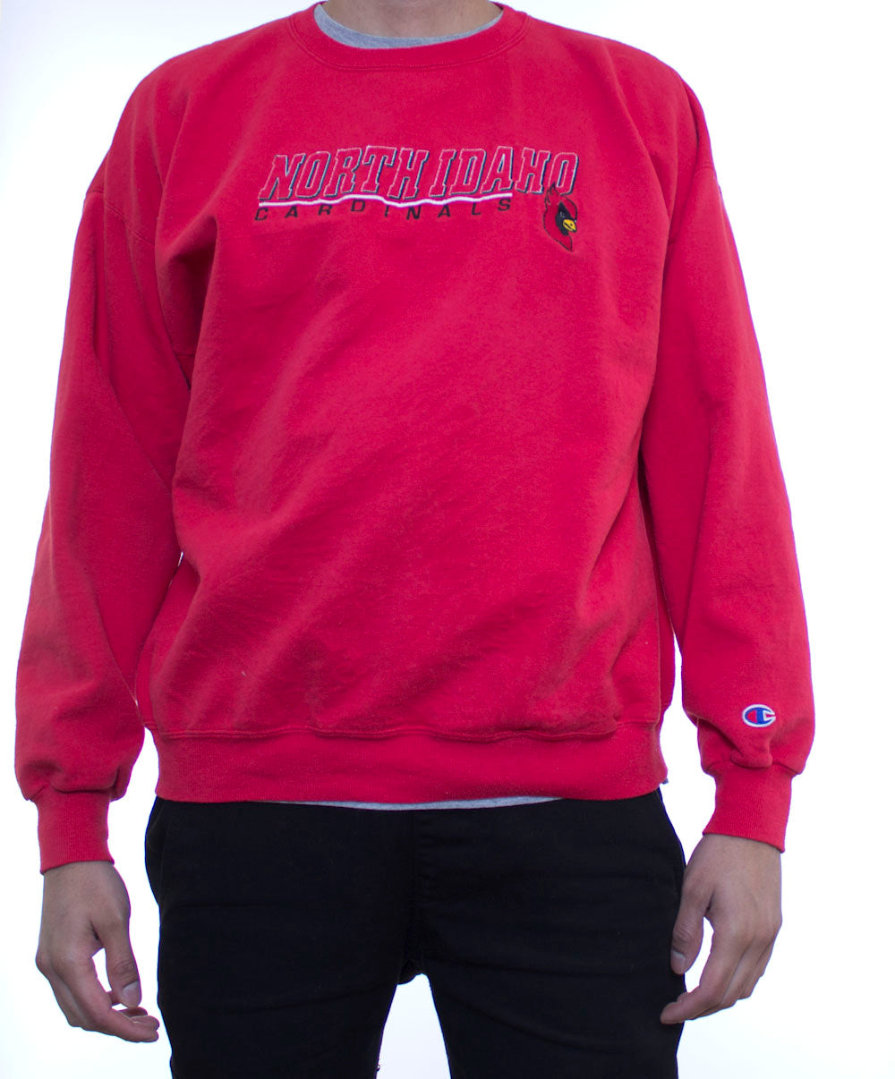 North Idaho Cardinals Champion Crewneck