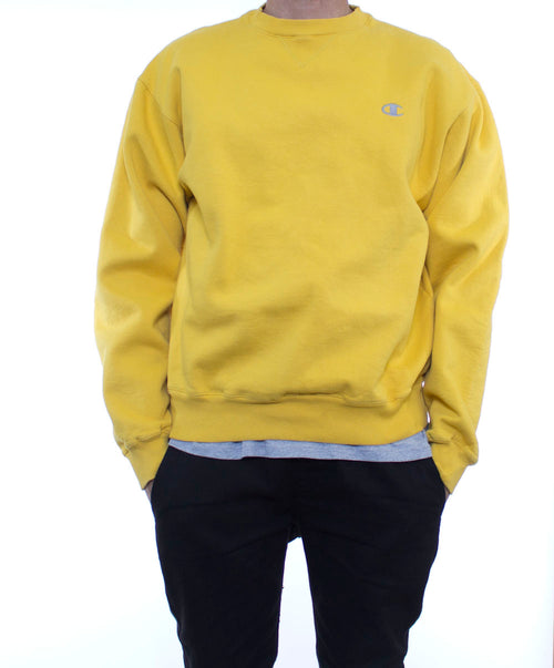 Sunshine Yellow Champion Crewneck