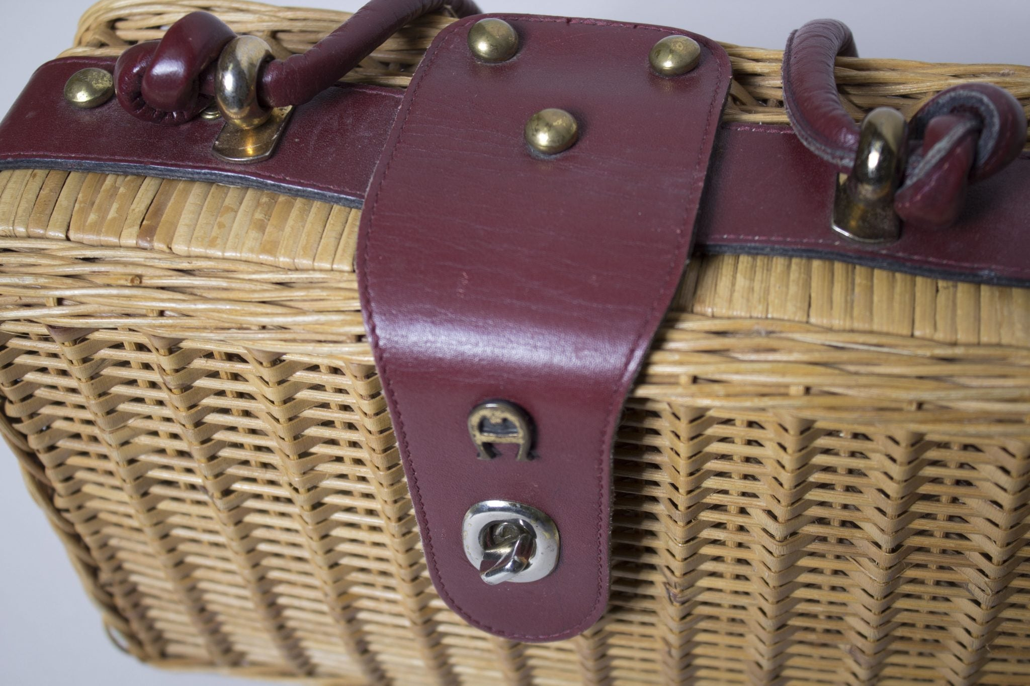 Sorella Basket-Weave Purse