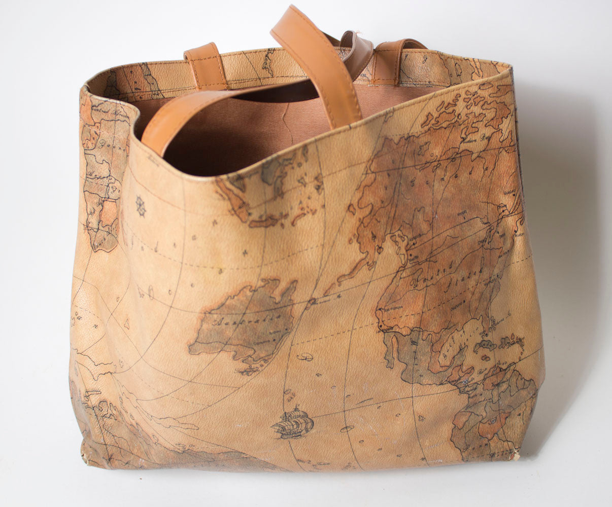 World Map Tote Bag – BridgeandBardot