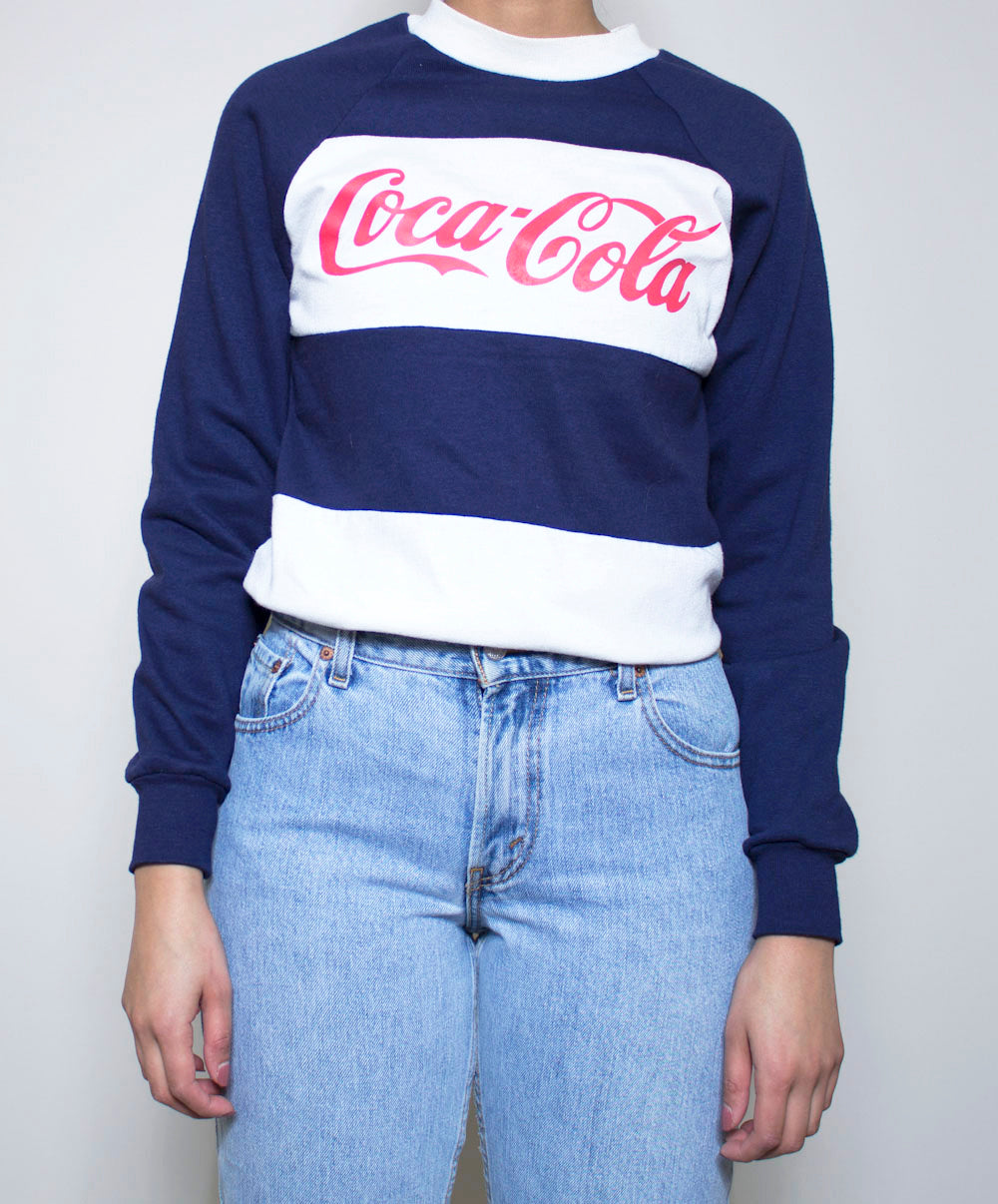 Retro Coca-Cola Crewneck