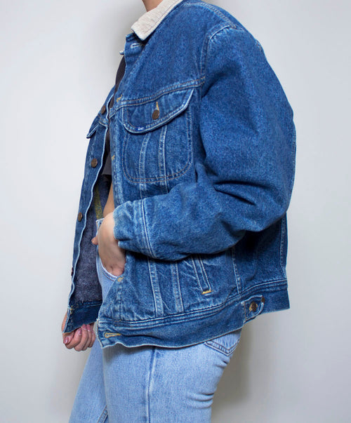 Divi Lined Lee Denim Jacket
