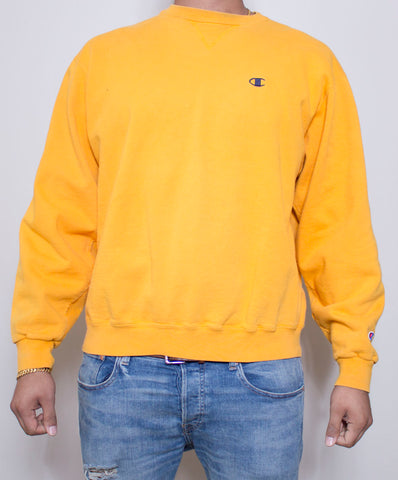 Yellow Nike Crewneck