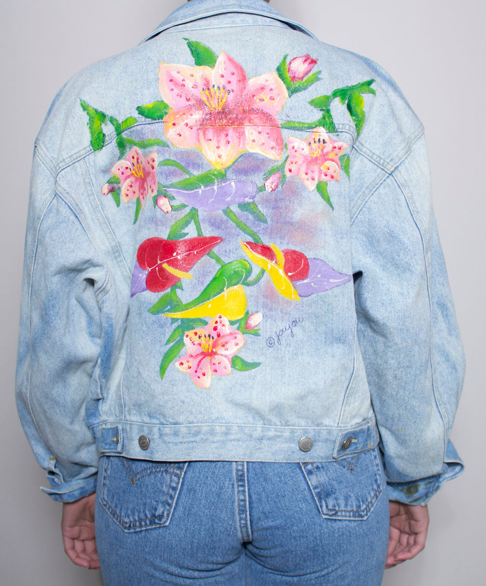 Flower Child Denim Jacket
