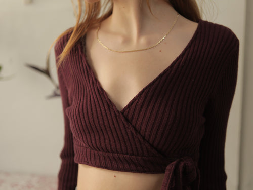Can you knot Crop Blouse