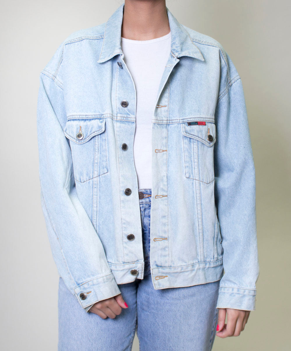Kim Lightwash Denim Jacket