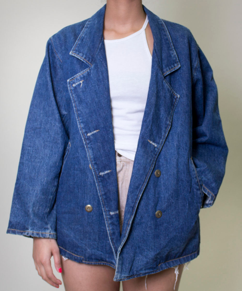Guess Denim Blazer