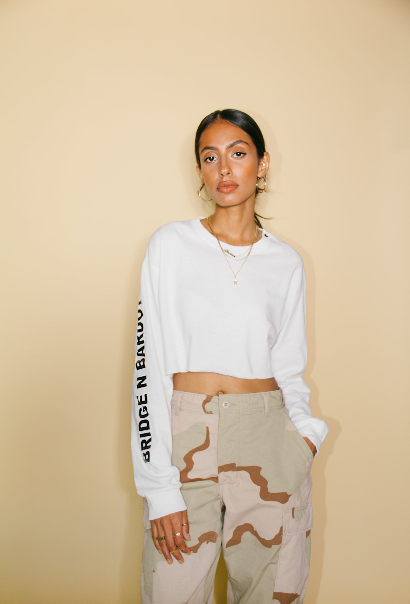 Essential Long Sleeve Crop