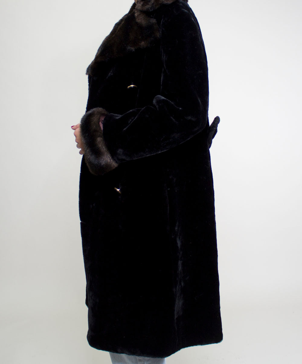 Jolie Faux Fur Coat