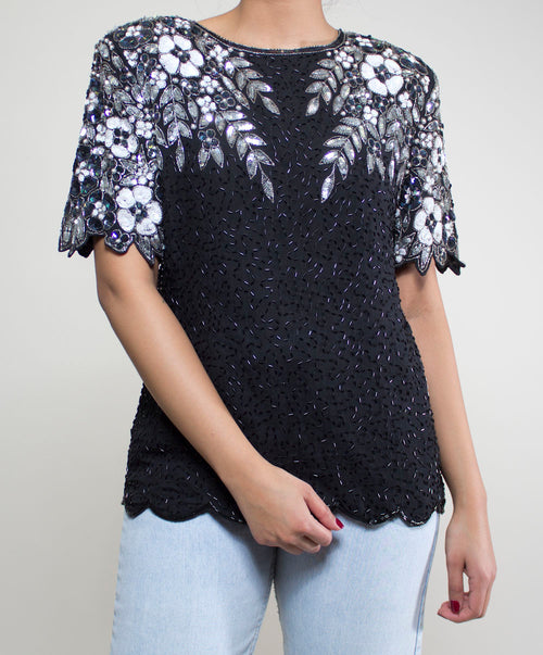 Aries Sequin Top