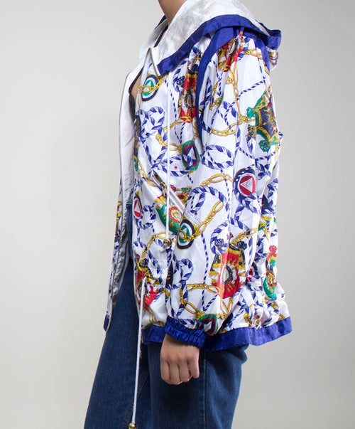 Versace Inspired Windbreaker