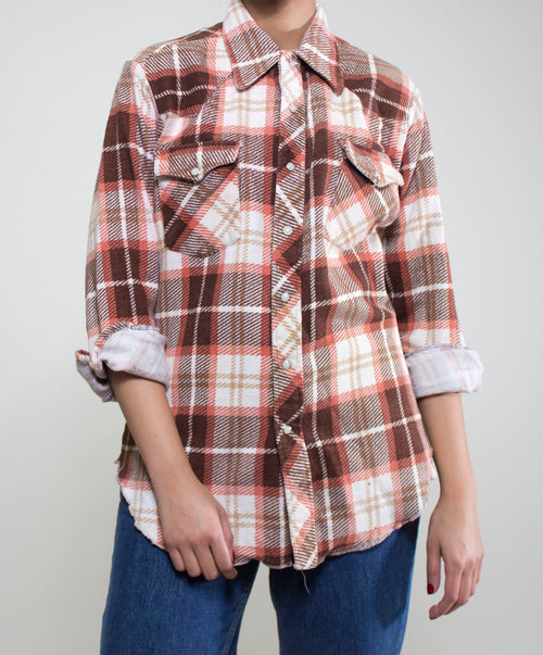 Sofia Plaid Top