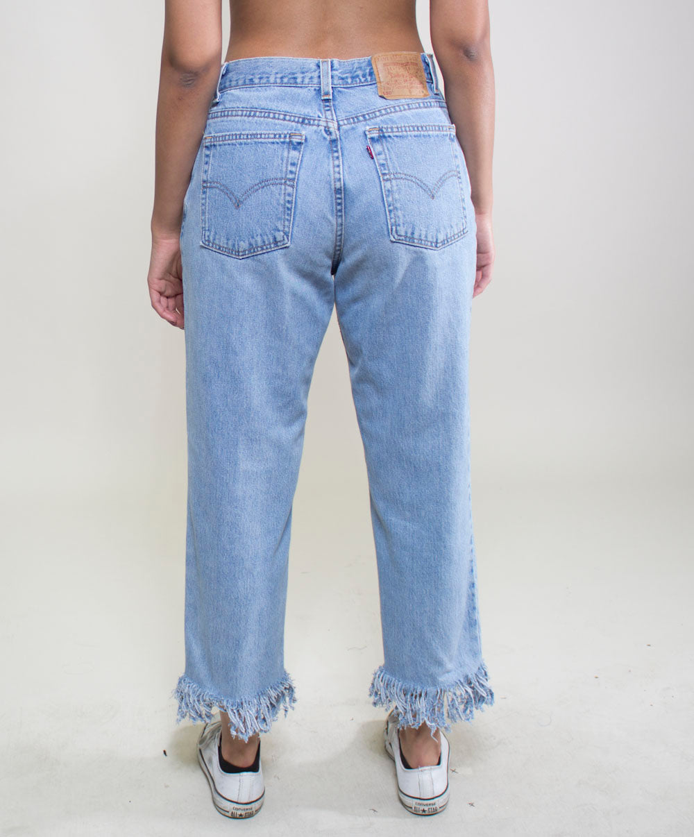 Frayed Edge Jean