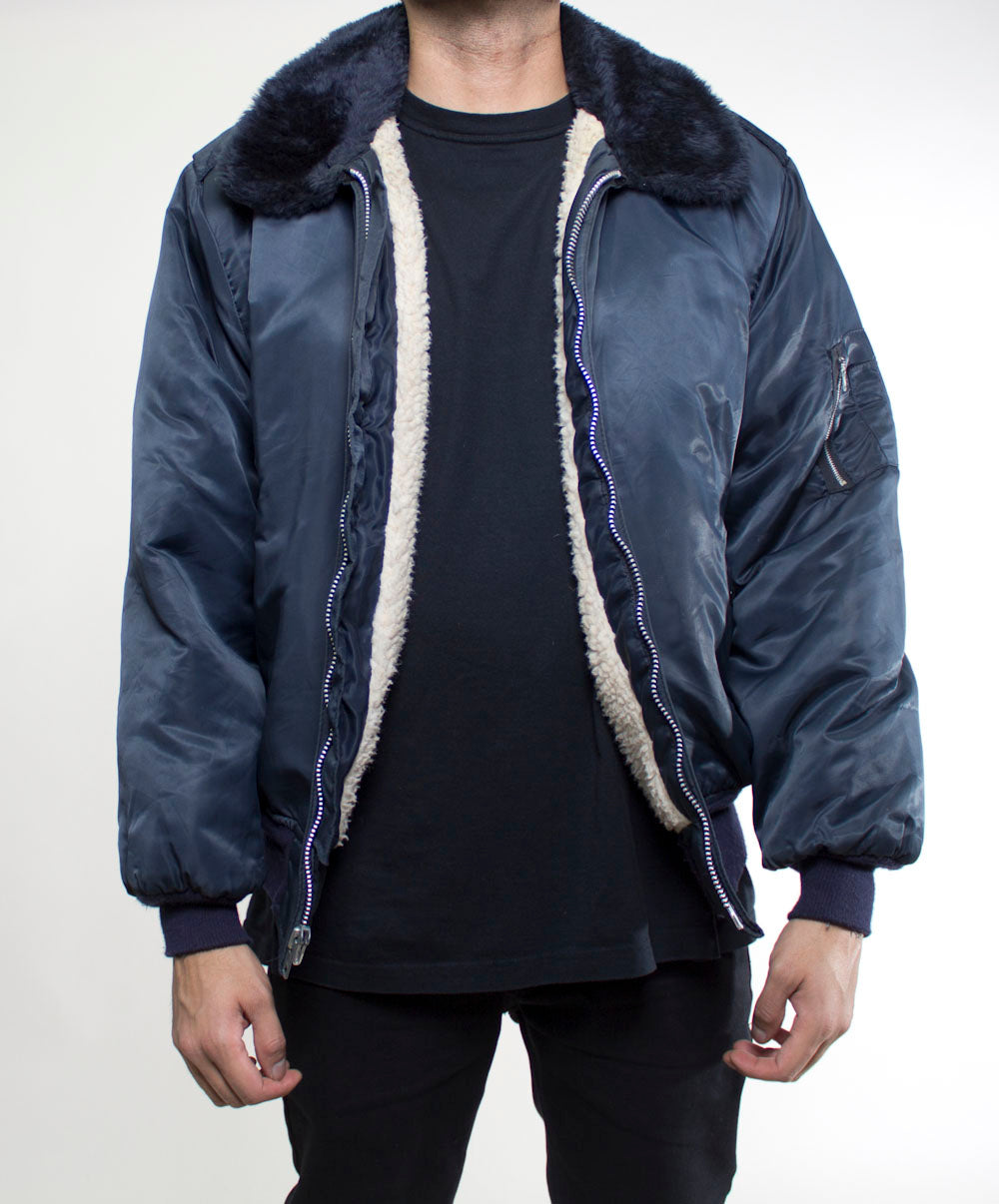 Wool Lined Bomber