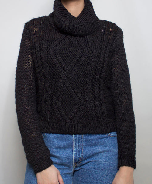 Onyx Knit Sweater