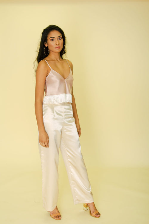 Navjot Wide Leg Trousers