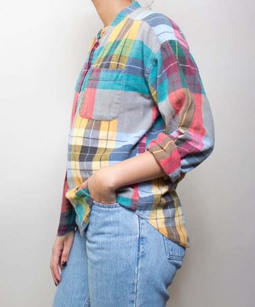 Martina Plaid Shirt