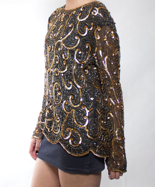 Anastasia Sequin Top