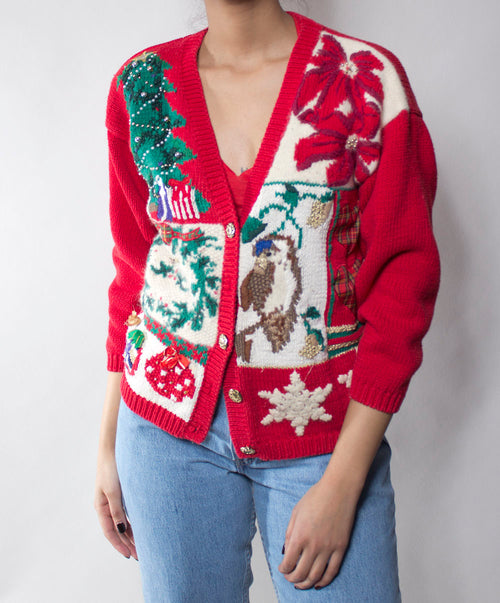 Ugly X-Mas Sweater: Ruby Red