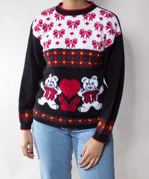 Ugly X-Mas Sweater: Beary Lovely