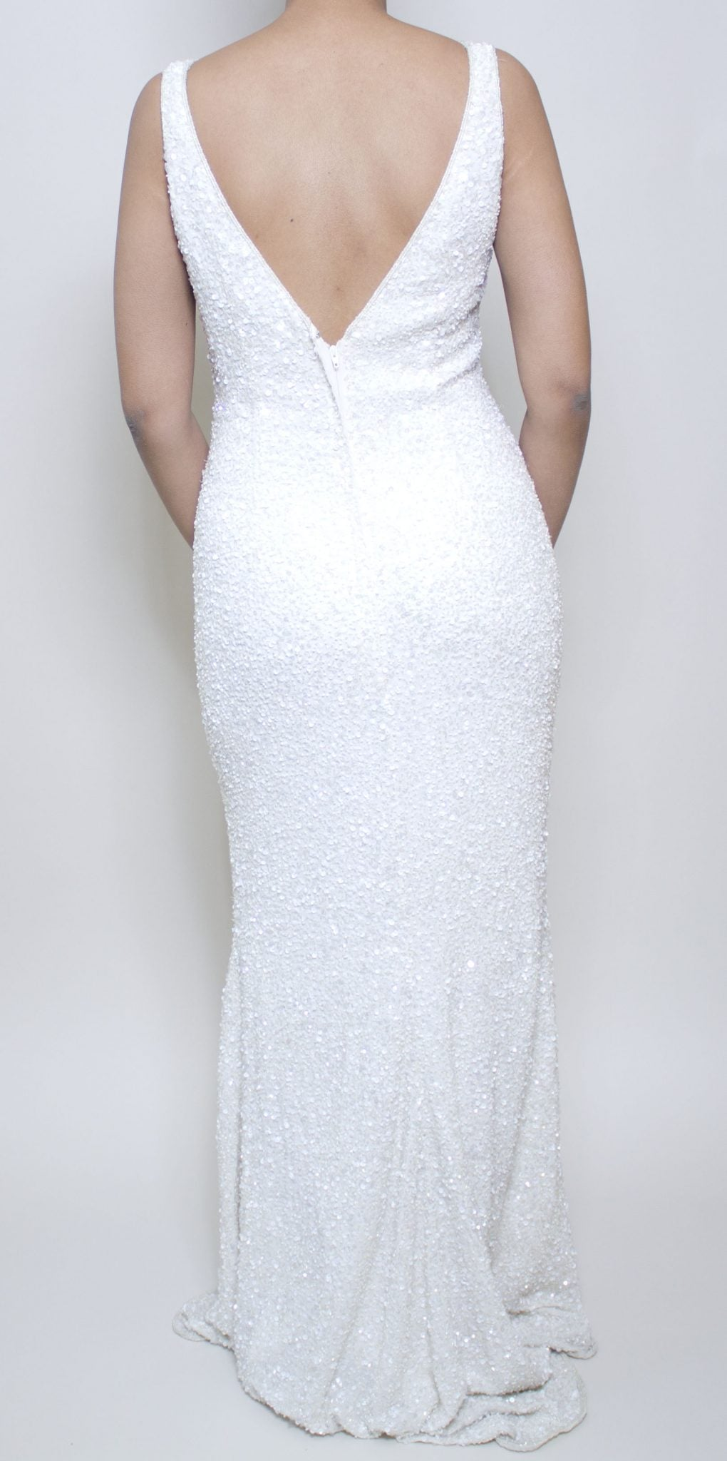 Icicle Sequin Dress