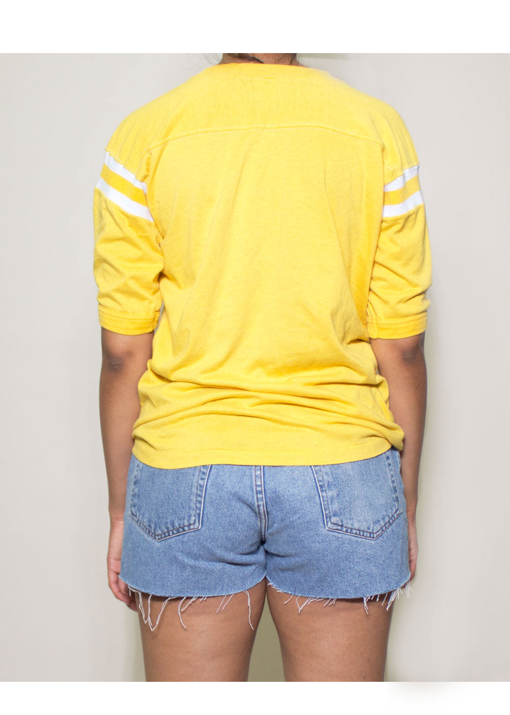 Yellow Graphic Tee
