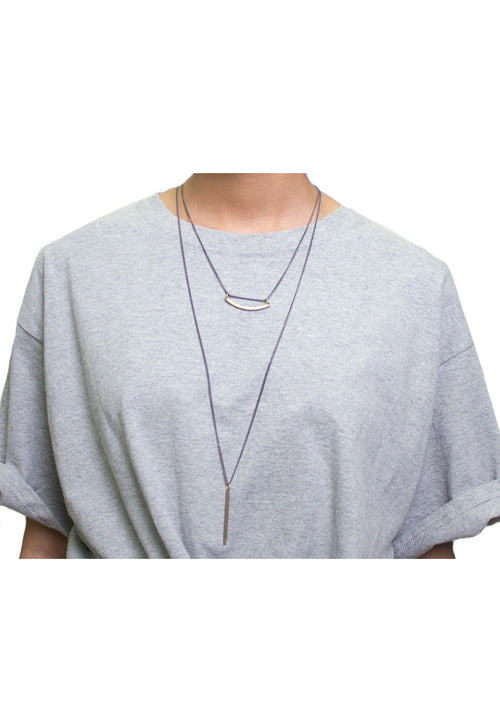 Eva layered necklace