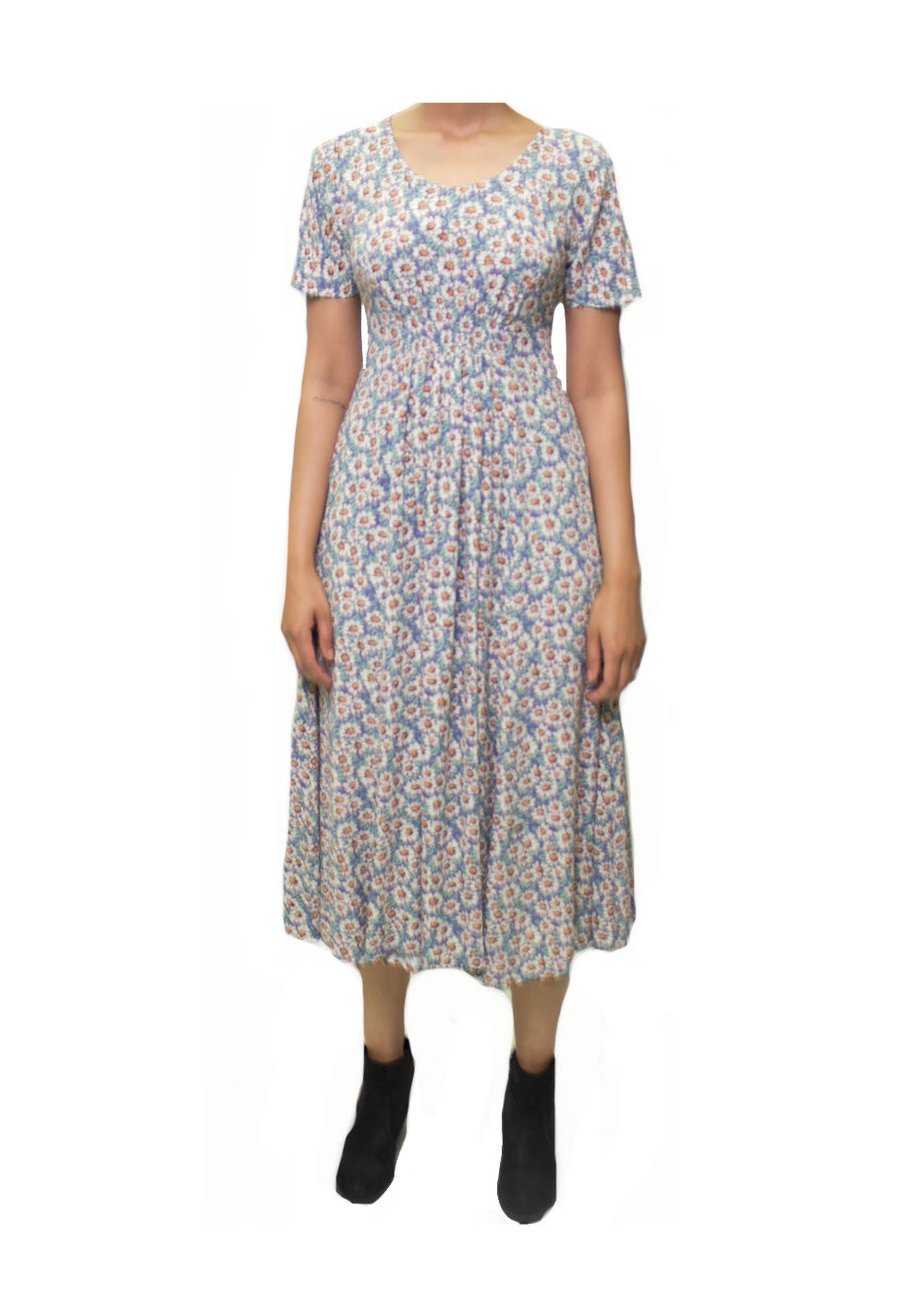 Hail Long Floral Dress