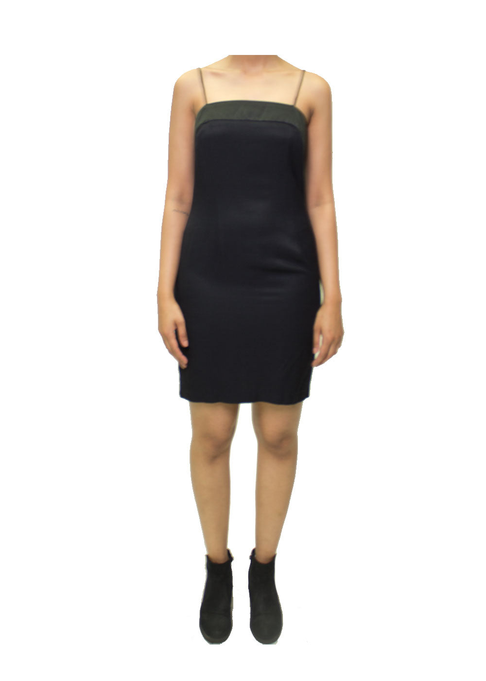 Alicia Strapy Black Dress