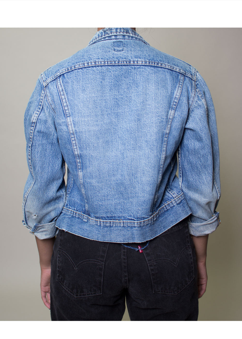 Preston Lee Denim Jacket