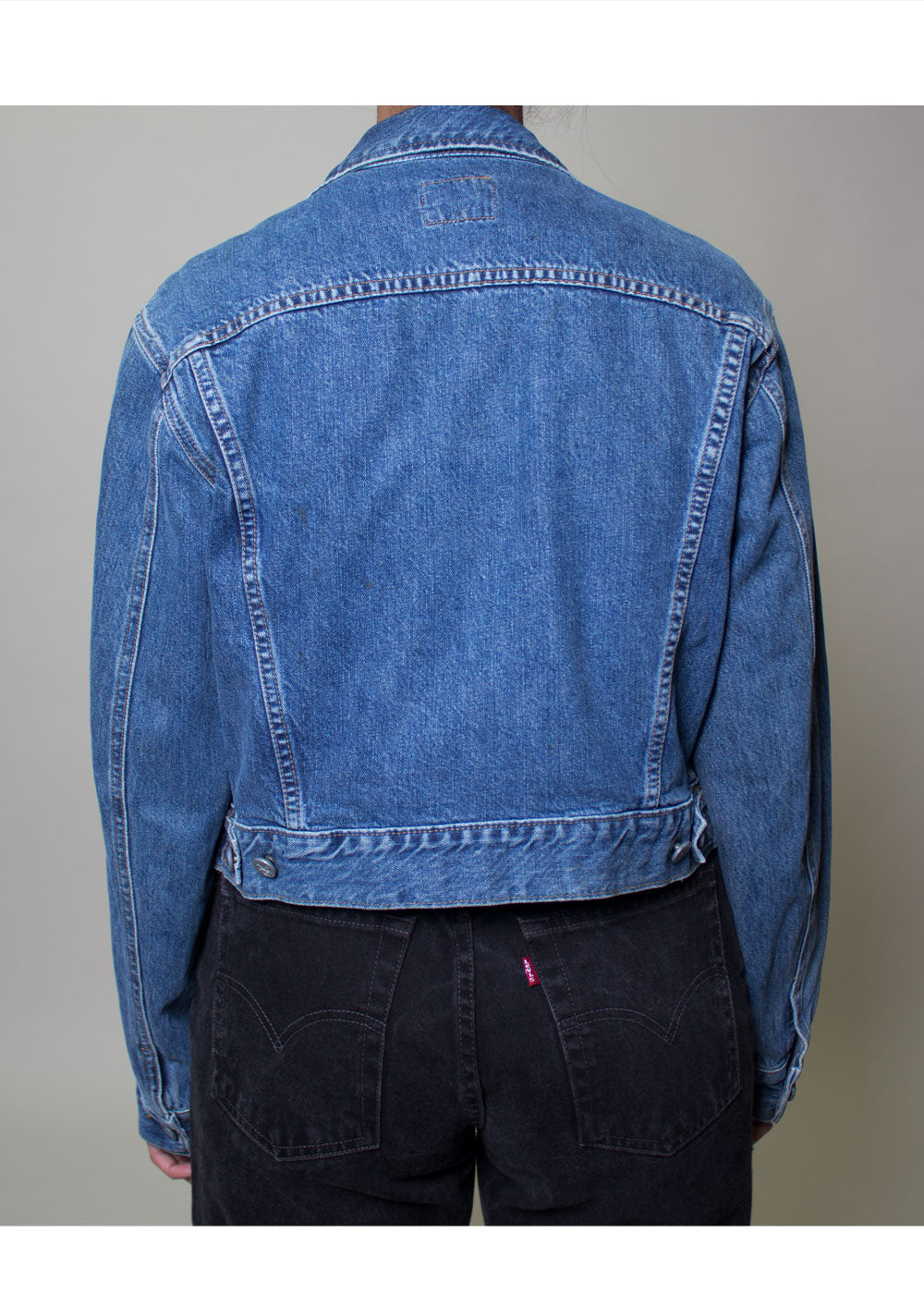 Calvin Klein Crop Denim Jacket