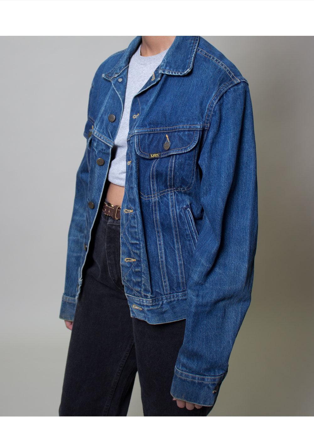 LEE Dark Denim Jacket