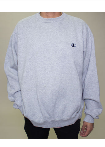 Dark Grey Champion Crewneck