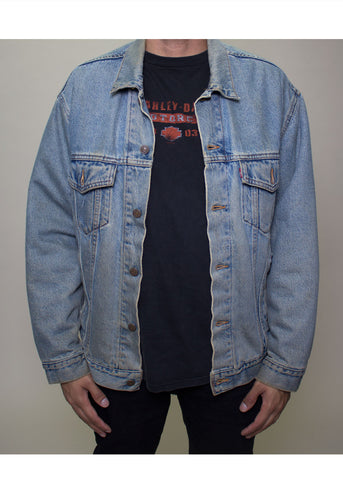 Liam Denim Button-Up