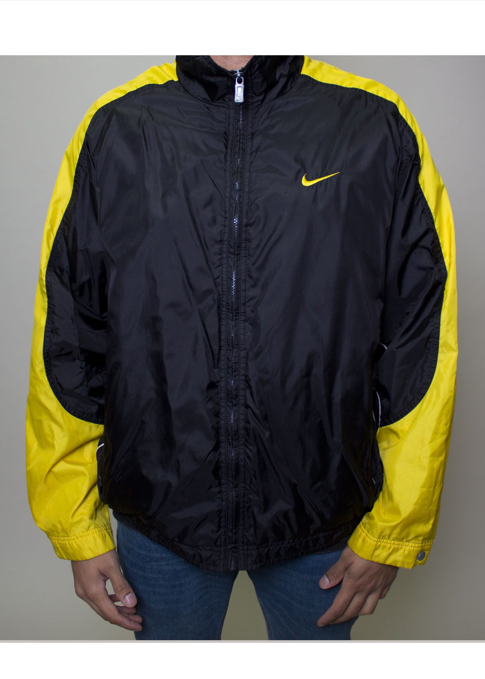 Yellow Accent Nike Windbreaker