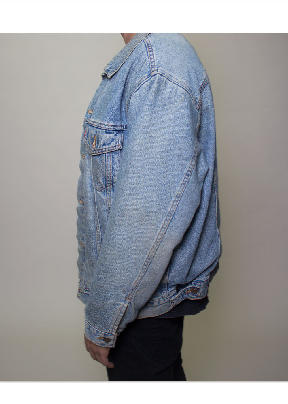 Lightwash Lined Levis Jacket