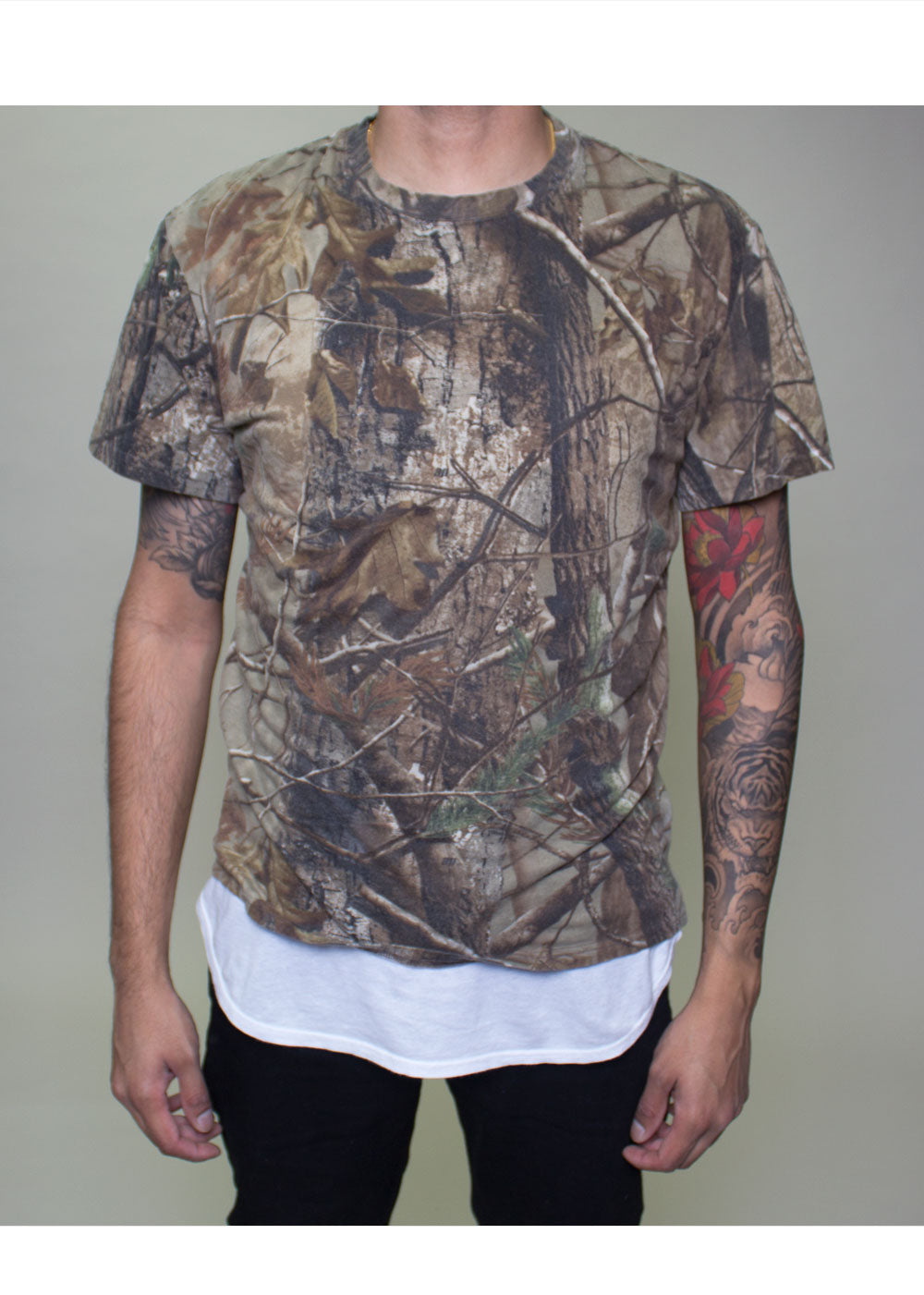 Bryson Camouflage Tee