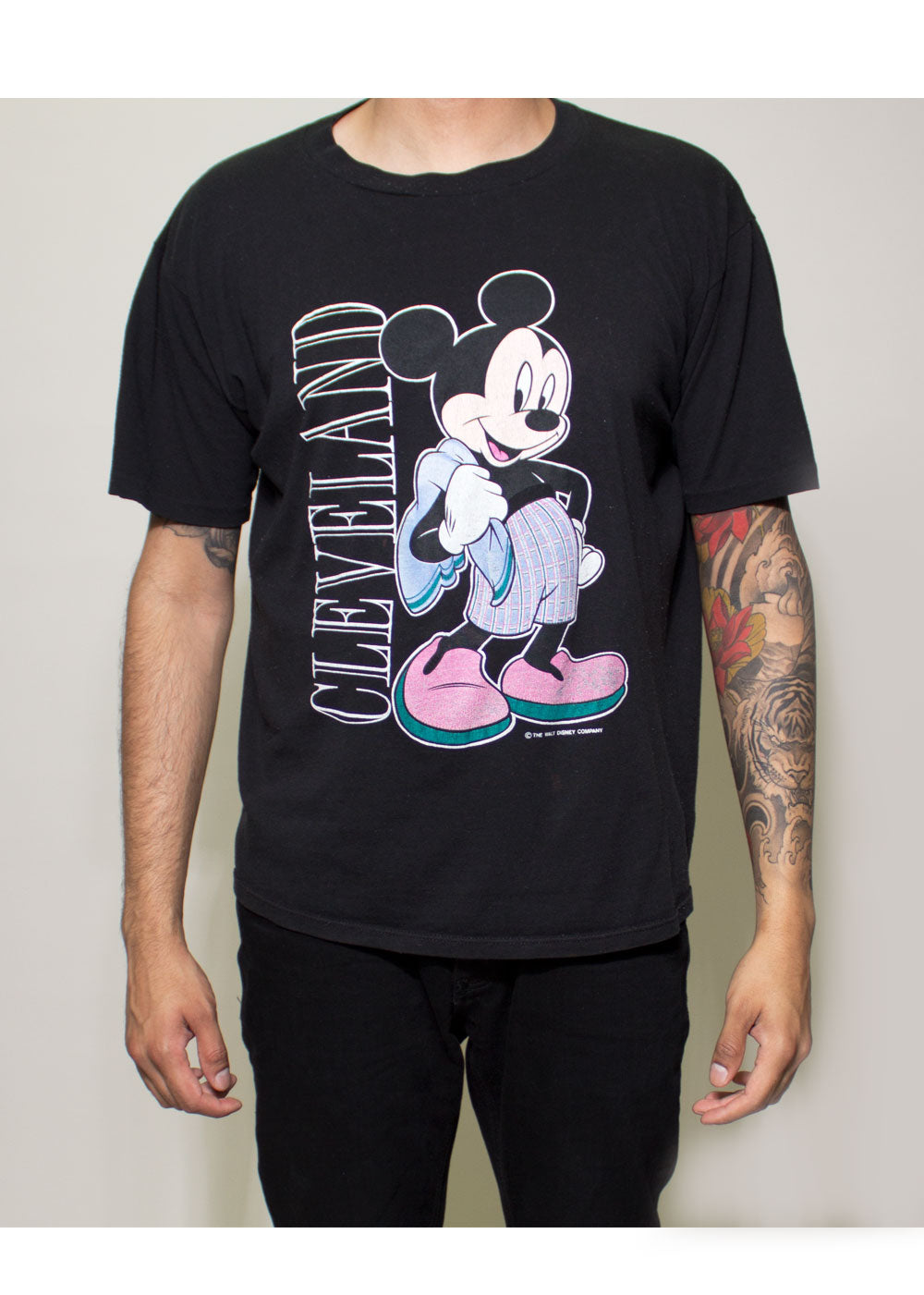 Cleveland Mickey Mouse Tee