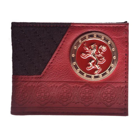Cartera Game Of Thrones Rojo