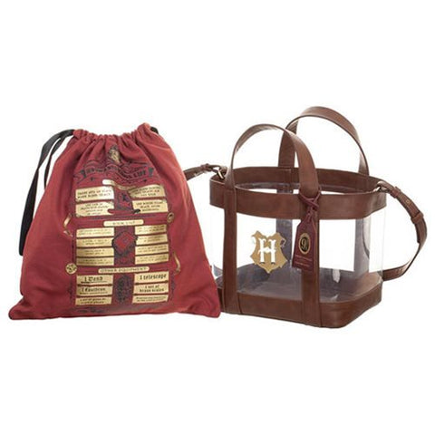 Mochila Harry Potter Clear Tote and Cinch